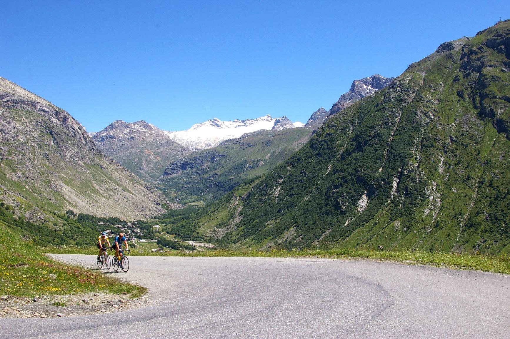 La montée de l'Iseran à vélo, rien que pour vous !